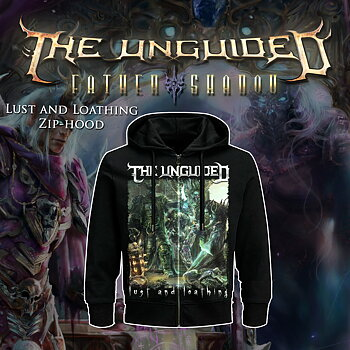 THE UNGUIDED - ZIP-HOOD, LUST AND LOATHING COVER