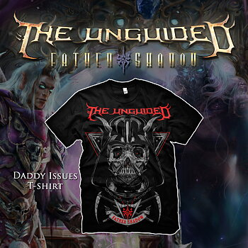 THE UNGUIDED - T-SHIRT, DADDY ISSUES