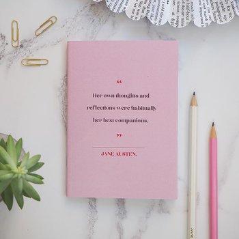 Literary Emporium : Women Writers Pocket Notebook - Jane Austen