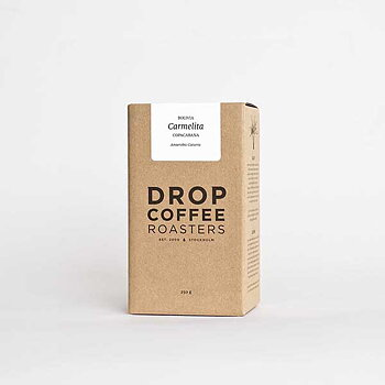 Drop Coffee - Carmelita - Washed Anaerobic Caturra - Ljusrostade hela kaffebönor - 250g