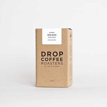 Drop Coffee - Ana Sora - Natural Landrace - Etiopien - Ljusrostade hela kaffebönor - 250g