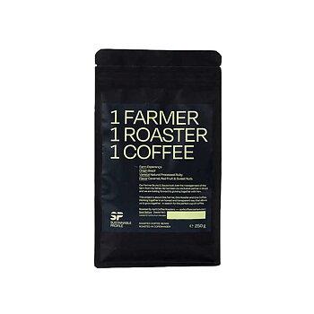 April kafferosteri - Brazil - Natural - Mellanrostade hela kaffebönor - 250g