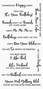 My Favorite Things -Anything-but-Basic Birthday Wishes