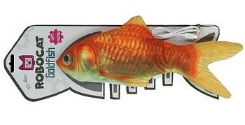 Kattleksak fisk som sprattlar