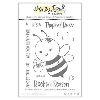 HONEY BEE STAMPS  -BEEkini Season | 3x4 Stamp Set