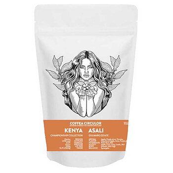 Coffea Circulor - Asali  Honey - Kenya - Ljusrostade hela kaffebönor - 1000g