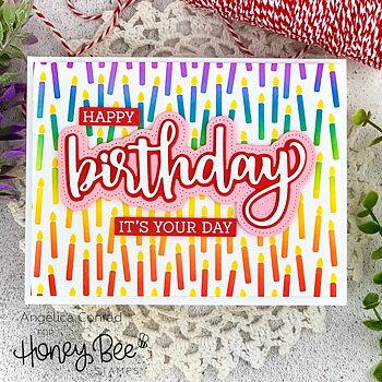 HONEY BEE STAMPS   Birthday | Honey Cuts