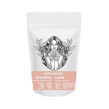 Coffea Circulor - Lume - Etiopien - Ljusrostade hela kaffebönor - 250g