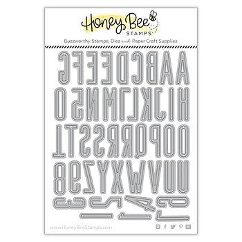 HONEY BEE STAMPS-Tailgate Alphabet | Honey Cuts
