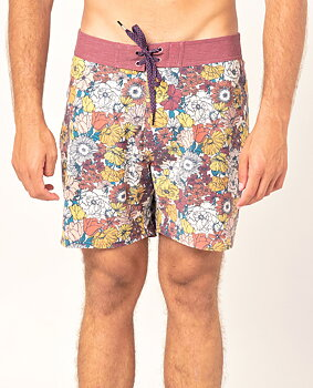 """Rip Curl Mirage Retro Bloomfield 16"""" Boardshorts Washed Red"""