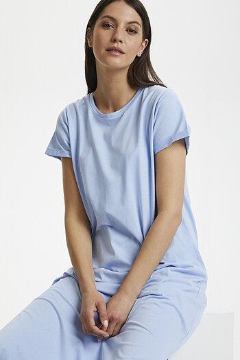 Kaffe - Celina Dress Chambray Blue
