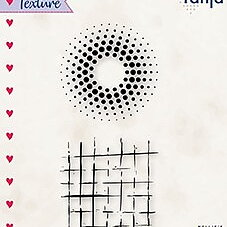 """Texture clear stamps """"Dots and lines"""""""