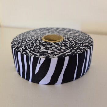 Resår 40mm - zebra