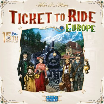 Ticket To Ride - Europe 15th Anniversary Edition (Nordic)