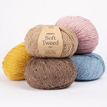 DROPS Soft Tweed Mix