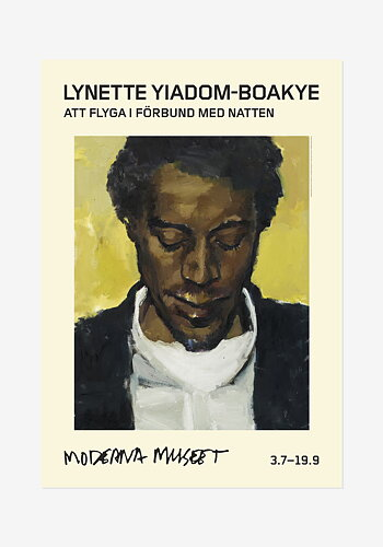 Poster, Lynette Yiadom-Boakye, Citrine By The Ounce