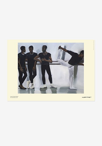 Poster, Lynette Yiadom-Boakye, A Concentration