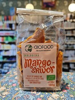 Mangoskivor 100g eko Biofood