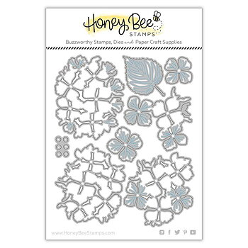 HONEY BEE STAMPS -Lovely Layers: Hydrangea | Honey Cuts