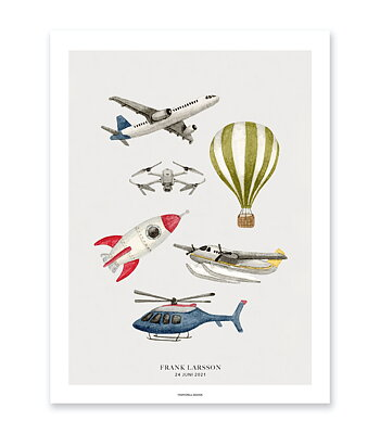 Vehicle poster - In the air
