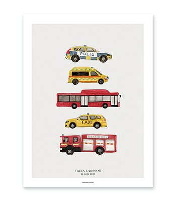Vehicle poster - Five vehicles