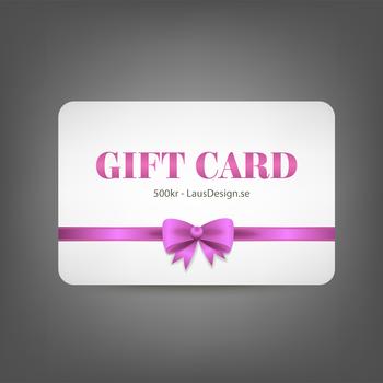Giftcard 500kr