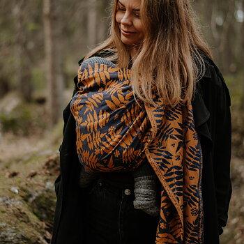 Ringsjal, Rowan, Winter leaves