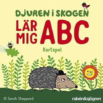 ABC Kortspel - Djuren i skogen lär mig