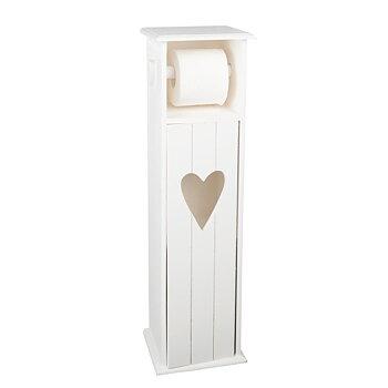 Träskåp för toarullar