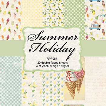 """6x6"""" Summer Holiday Collection pack"""