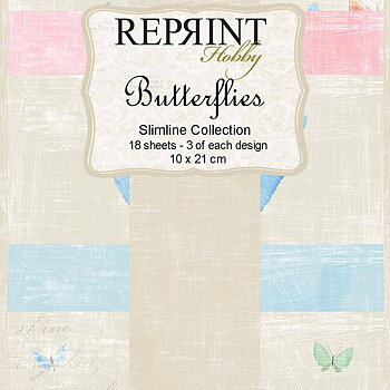 Slimline Butterflies Collection pack
