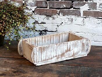 Gammal murstensform/trälåda Antikvit
