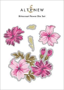 ALTENEW -Bitterroot Flower Die Set