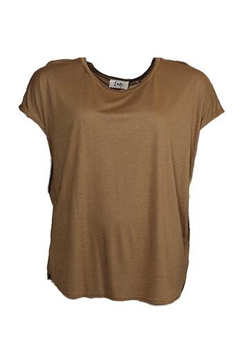 Nugga Viscose T-shirt - Deep Gold - Isay