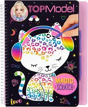 Top Model Magic Scratch Book