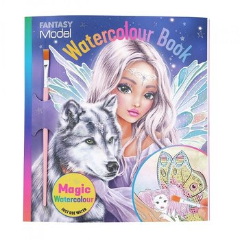 Top Model Fantasy Water Colour Book