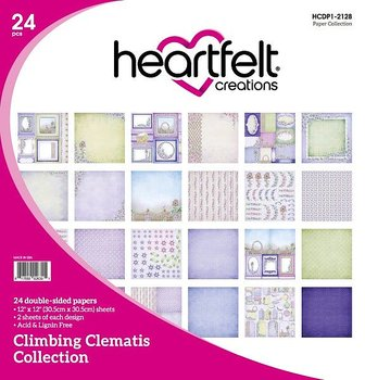 Heartfelt - Climbing Clematis Collection paper pad