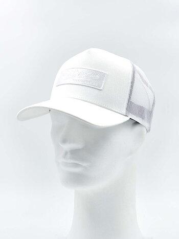 Mitchell & Ness - Box Logo Trucker White