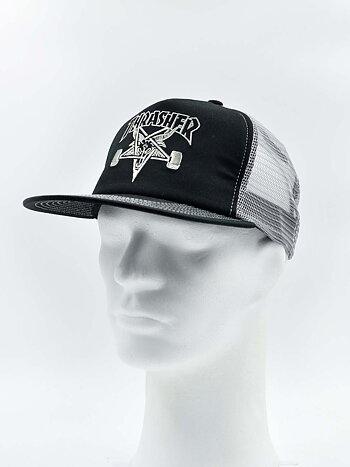 Thrasher - Skategoat Mesh Cap Black/Grey