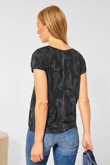 Burn Dessin Shirt Topp - Street One