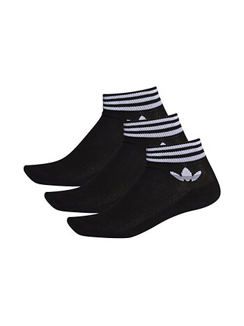 Adidas - Trefoil Ankle Socks Black