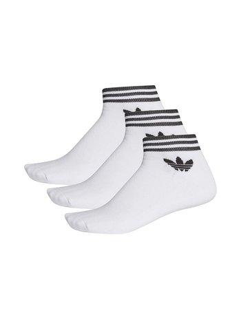 Adidas - Trefoil Ankle Socks White