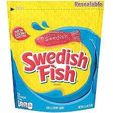 Swedish Fish mini bag