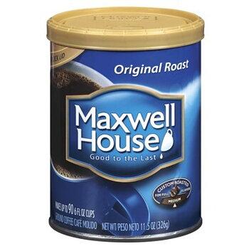 Maxwell House original toast ground coffee