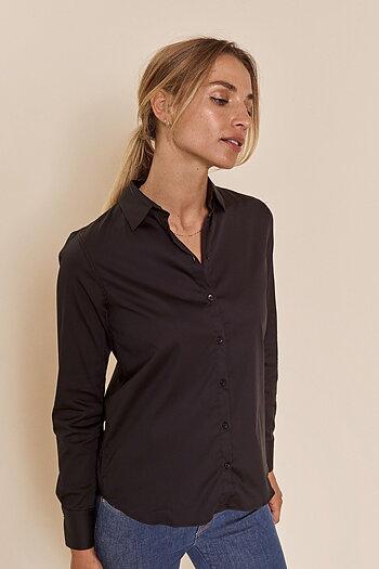 Mos Mosh - Martina Sustainable Shirt Black