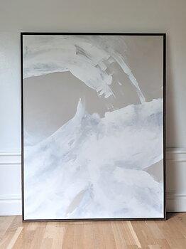 FLOW, stor abstrakt målning