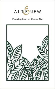 ALTENEW -Peeking Leaves Cover Die