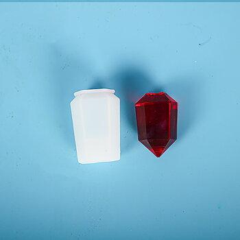 Gjutform  i silikon -   Bullet/ Prisma pendel 40mm