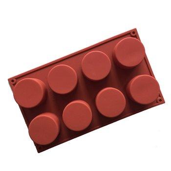 Gjutform  i silikon -  Tartletter 8 formar
