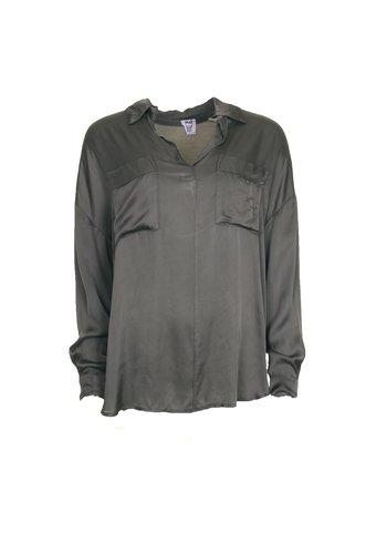 Skjortblus m Fickor | Army